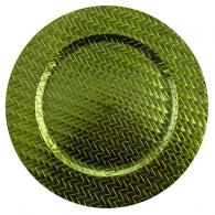 Sousplat Verde Trançado